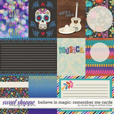 Believe in Magic: Remember Me Cards by Amber Shaw & Studio Flergs