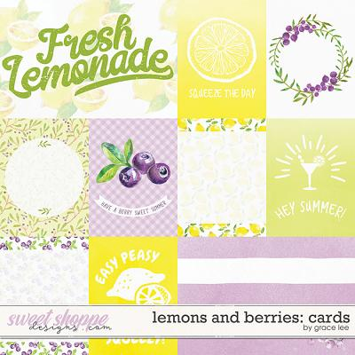 Lemons and Berries: Cards by Grace Lee