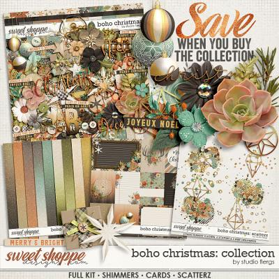 Boho Christmas: COLLECTION & *FWP* by Studio Flergs