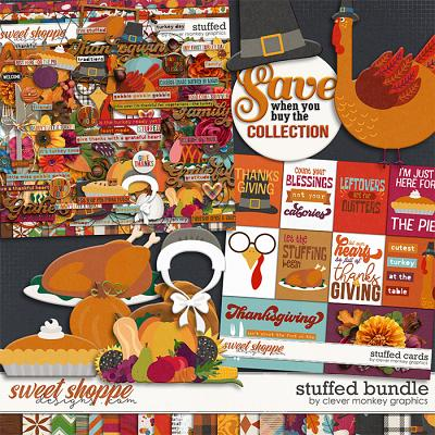 Stuffed Bundle by Clever Monkey Graphics