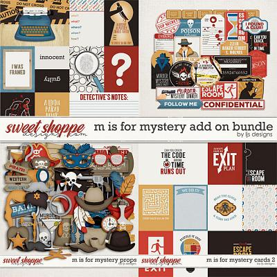 M Is For Mystery Add On Bundle by LJS Designs