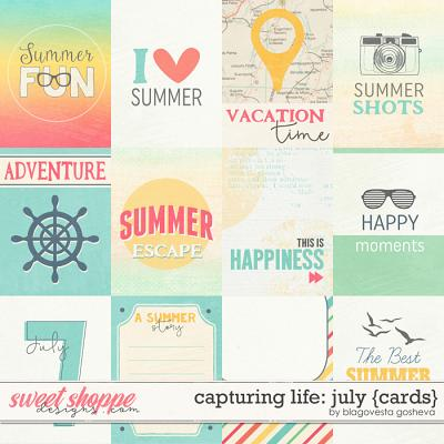 Capturing life: July {cards} by Blagovesta Gosheva