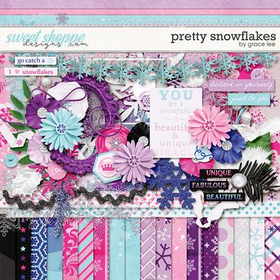 Pretty Snowflake by Grace Lee