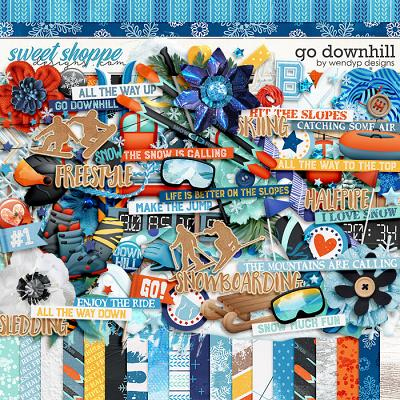 Go Downhill by WendyP Designs