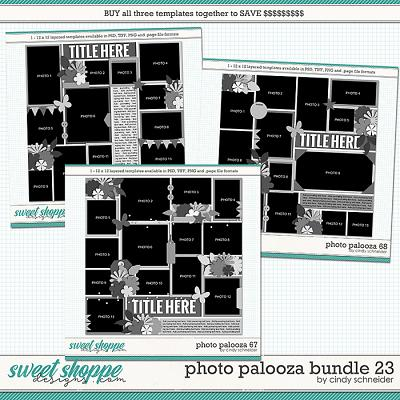 Cindy's Layered Templates - Photo Palooza Bundle 23 by Cindy Schneider