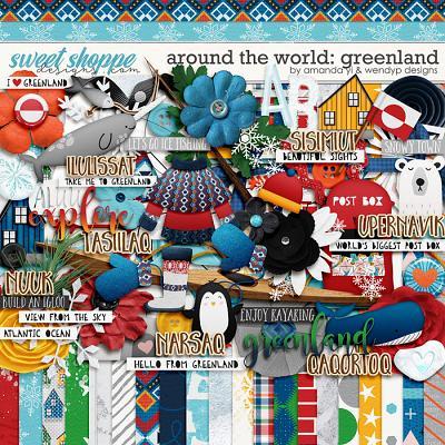 Around the world: Greenland by Amanda Yi & WendyP Designs