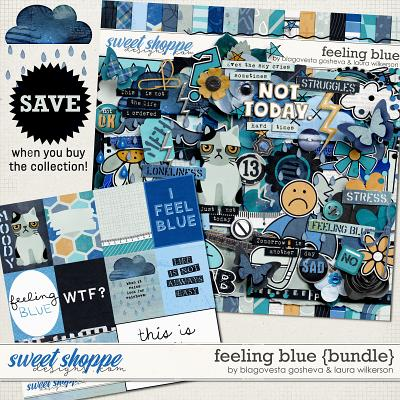Feeling Blue Bundle by Blagovesta Gosheva and Laura Wilkerson