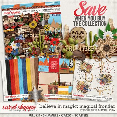 Belive in Magic: Magicial Frontier Collection by Amber Shaw & Studio Flergs