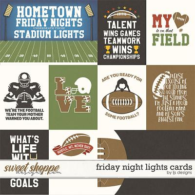 Friday Night Lights Cards by LJS Designs