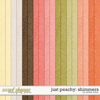 Just Peachy: Shimmers by Amber Shaw