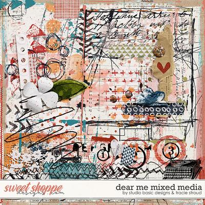 Dear Me Mixed Media by Studio Basic and Tracie Stroud