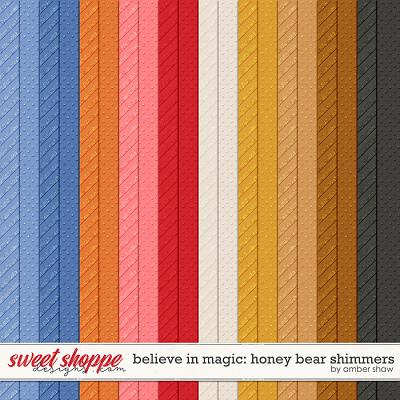 Believe in Magic: Honey Bear Shimmers