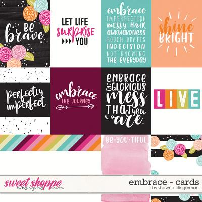 Embrace - Cards by Shawna Clingerman