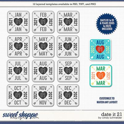 Cindy's Layered Templates - Date It 21 by Cindy Schneider