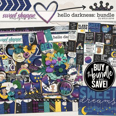 Hello Darkness: Bundle by Erica Zane