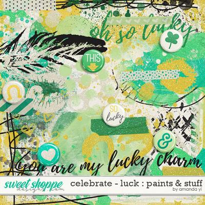 Celebrate: Luck : Paints & Stuff by Amanda Yi