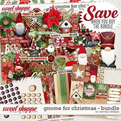 Gnome for Christmas - Bundle by WendyP Designs