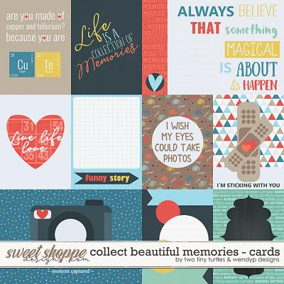 Collect Beautiful Memories :: Cards by Two Tiny Turtles & WendyP Designs