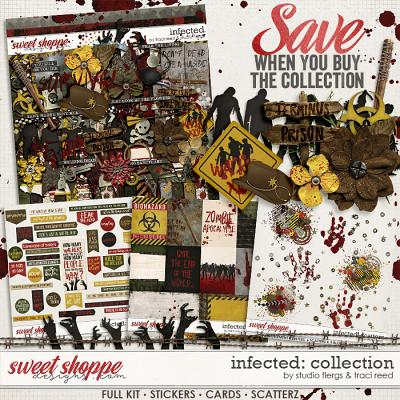 Infected: COLLECTION by Studio Flergs & Traci Reed