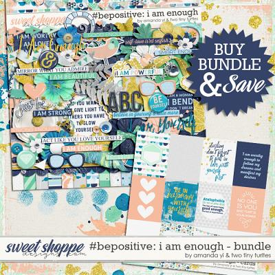 #Be Positive: I Am Enough Bundle by Amanda Yi & Two Tiny Turtles