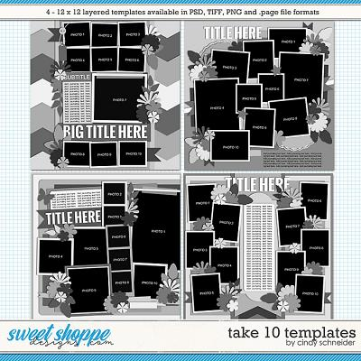 Cindy's Layered Templates - Take Ten by Cindy Schneider