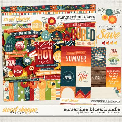 Summertime Blues: Bundle by Traci Reed and Kristin Cronin-Barrow