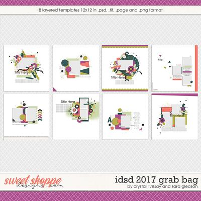 iDSD 2017 Template Grab Bag by Crystal Livesay and Sara Gleason