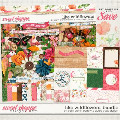 Like Wildflowers Bundle by Kristin Cronin-Barrow and Studio Basic