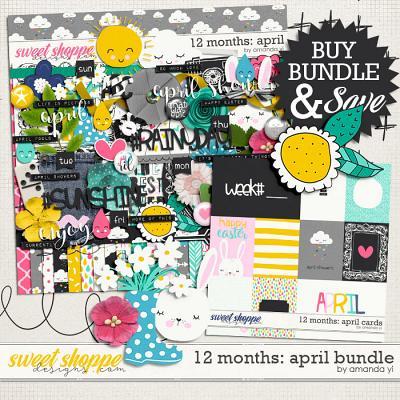 12 Months: April Bundle by Amanda Yi