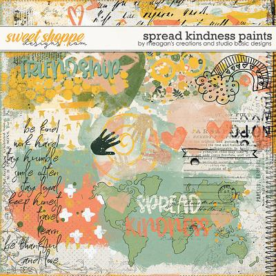 Spread Kindness Paints by Meagan's Creations and Studio Basic Designs