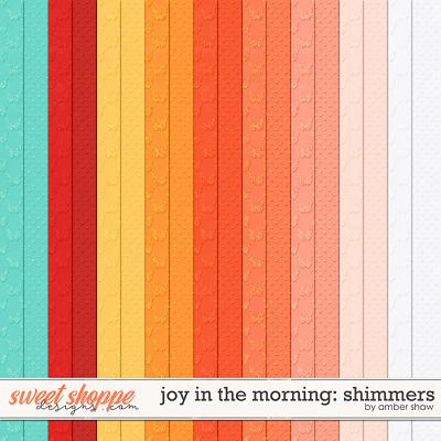Joy in the Morning Shimmers by Amber Shaw