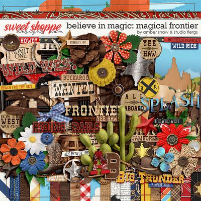 Belive in Magic: Magicial Frontier by Amber Shaw & Studio Flergs