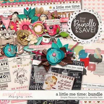 a little me time bundle: Simple Pleasure Designs by Jennifer Fehr