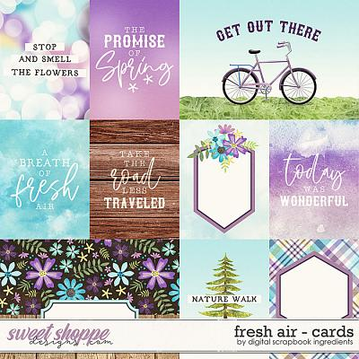 Fresh Air | Cards by Digital Scrapbook Ingredients