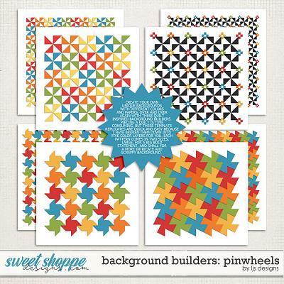 Background Builders: Pinwheels by LJS Designs