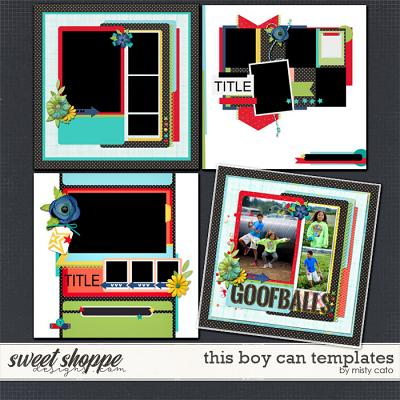 This Boy Can Templates by Misty Cato