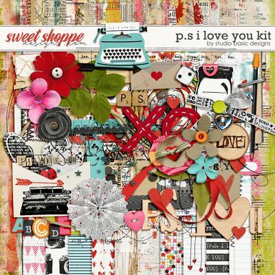 P.S. I Love You Kit by Studio Basic