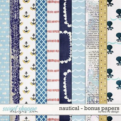 Nautical - Bonus Papers by Red Ivy Design