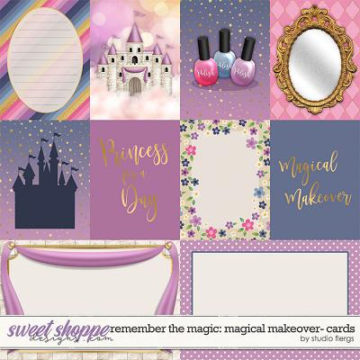 Remember the Magic: MAGICAL MAKEOVER- CARDS by Studio Flergs