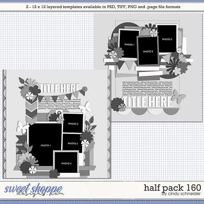 Cindy's Layered Templates - Half Pack 160 by Cindy Schneider