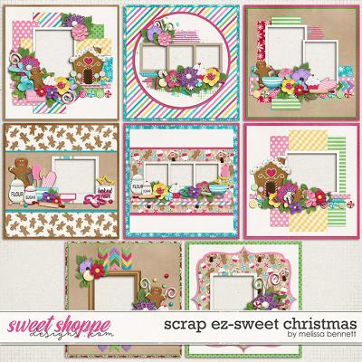 Scrap EZ-Sweet Christmas by Melissa Bennett