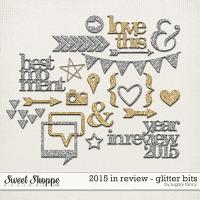 2015 in Review Glitter Bits by Sugary Fancy