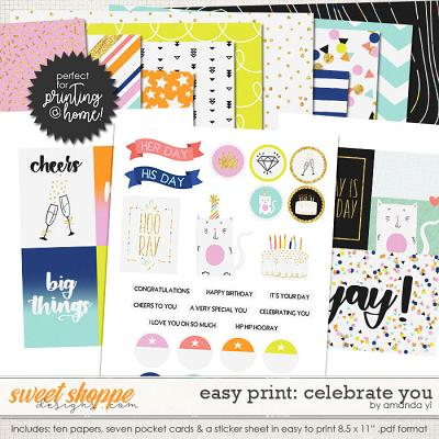 Easy Print: Celebrate You by Amanda Yi