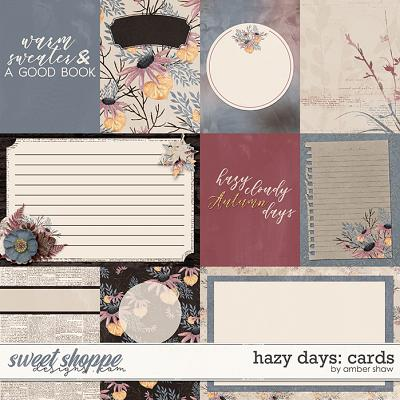 Hazy Days: Cards by Amber Shaw