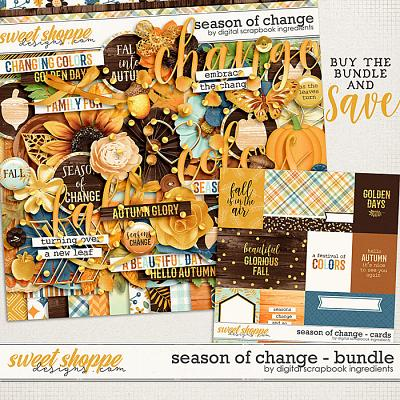 Season Of Change Bundle by Digital Scrapbook Ingredients