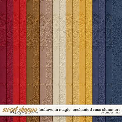 Believe In Magic: Enchanted Rose Shimmers