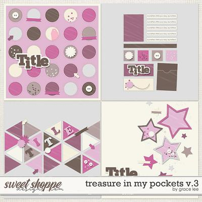 Treasures In My Pockets Templates Vol. 3 by Grace Lee