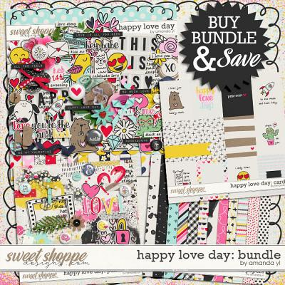 Happy love day bundle by Amanda Yi