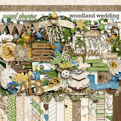 Woodland Wedding by LJS Designs