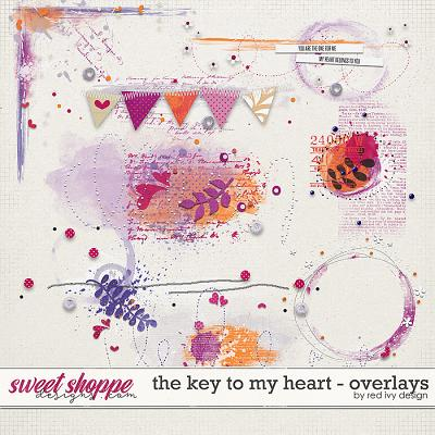 The Key To My Heart - Overlays by Red Ivy Design